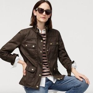 J. CREW The Downtown Field Utility Military Jacket